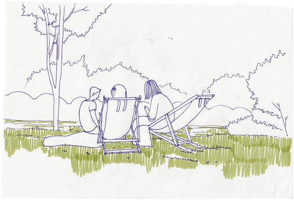 Клуб рисовальщиков: Сад «Эрмитаж». Изображение № 1.