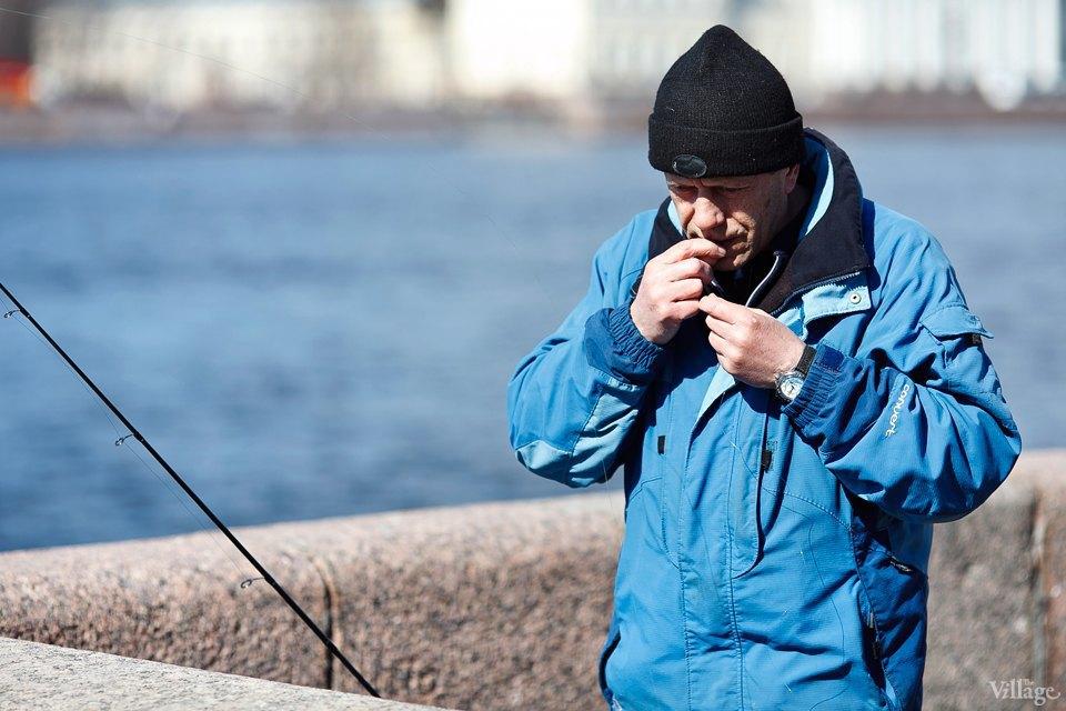 Люди в городе: Рыбаки Петербурга. Изображение № 6.