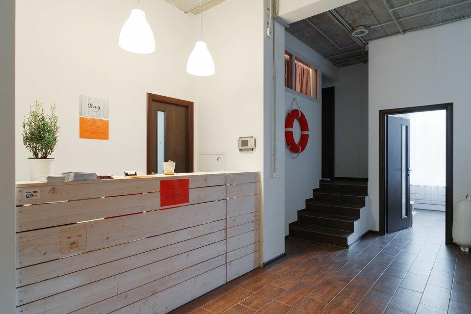 Хостел на«Белорусской» сномерами-каютами идвухэтажной двуспальной кроватью. Изображение № 21.
