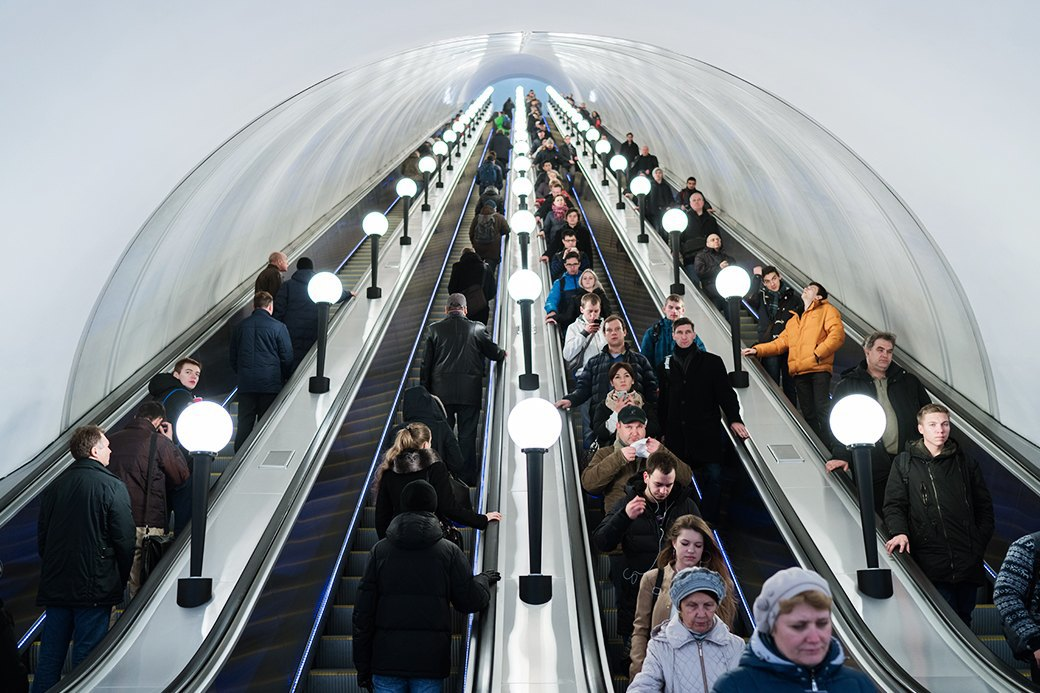 Обновлённая станция метро «Бауманская». Изображение № 20.
