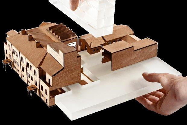 Европейский университет: 4 проекта реконструкции. Изображение № 6.