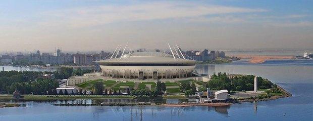 Опубликованы финальные рендеры строящегося стадиона наКрестовском. Изображение № 4.