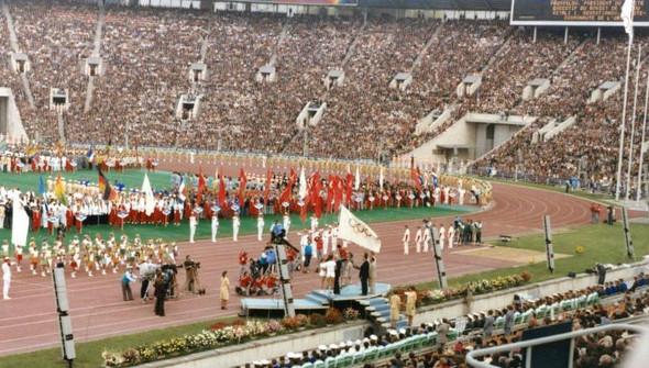 Открытие Олимпиады-80, 1980 год. Изображение № 5.
