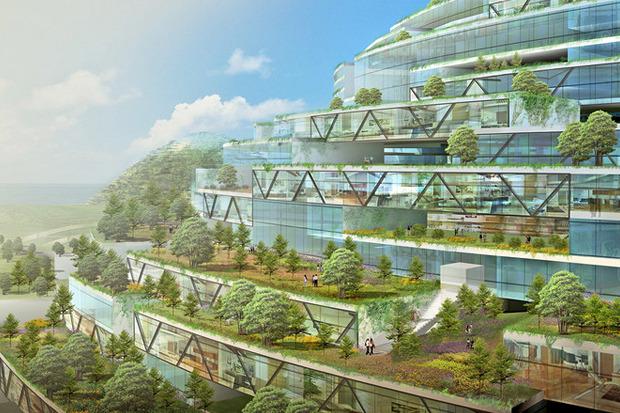 Иностранный опыт: 8 фантастических городских проектов. Изображение № 41.