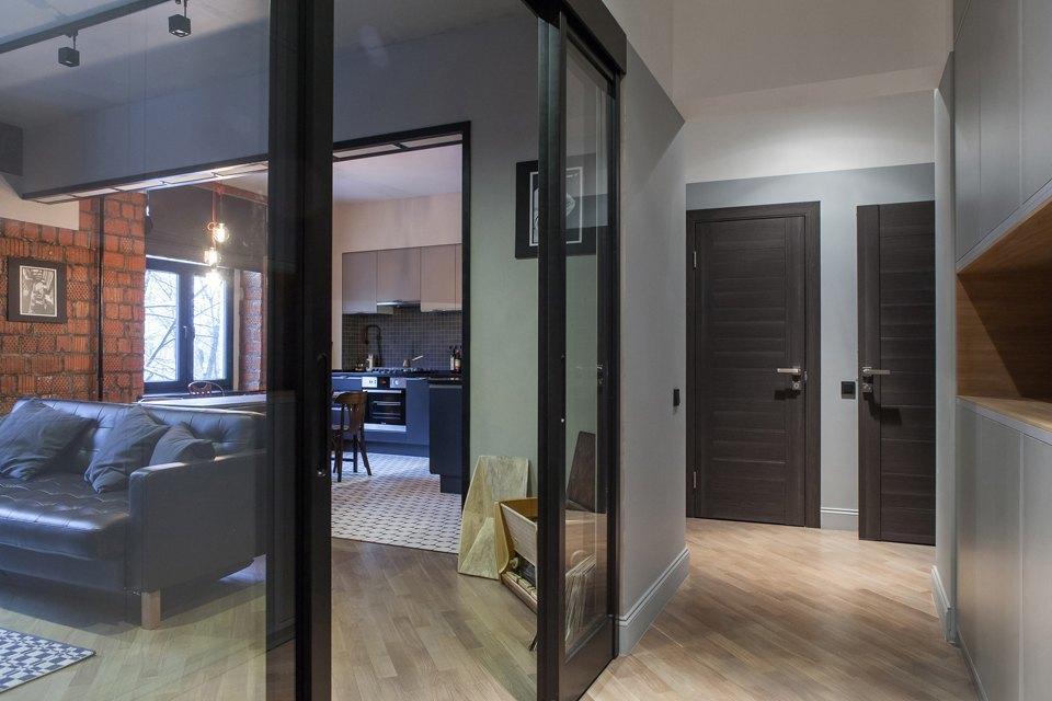 Трёхкомнатная квартира для холостяка наТишинке. Изображение № 3.