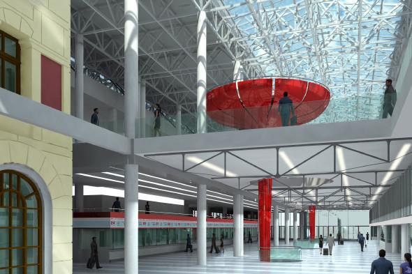 В плане: Реконструкция московских вокзалов. Изображение № 21.