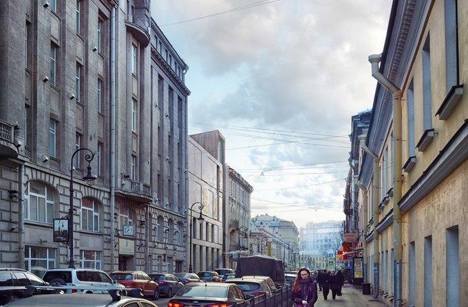 Появился проект современной пристройки для музея Достоевского. Изображение № 3.