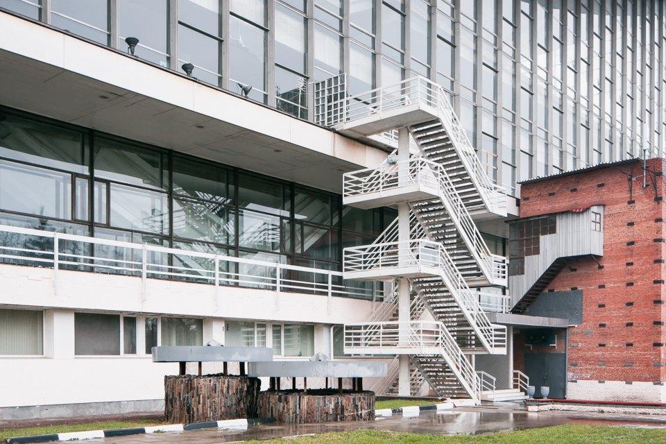 Архитектор Андрей Стенюшкин— омонреальском павильоне наВДНХ. Изображение № 9.