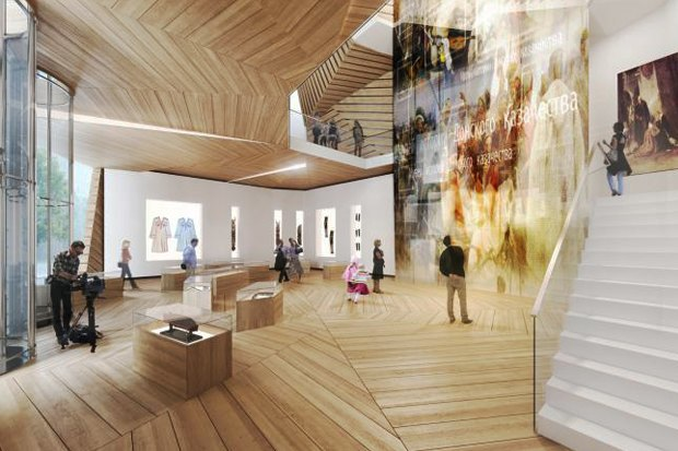 Проект здания Музея казачества в Волгограде. Изображение № 13.