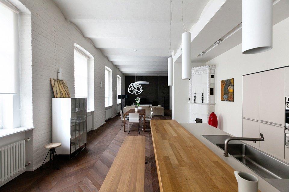 Квартира владельцев галереи Bulthaup наБольшой Конюшенной. Изображение № 2.