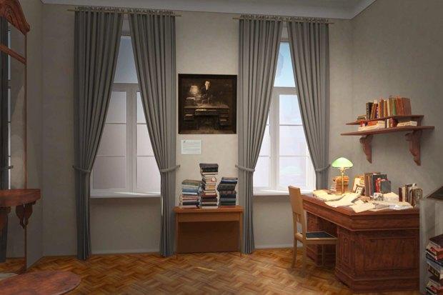 Комната, в которой Булгаков жил с первой женой. Изображение № 5.