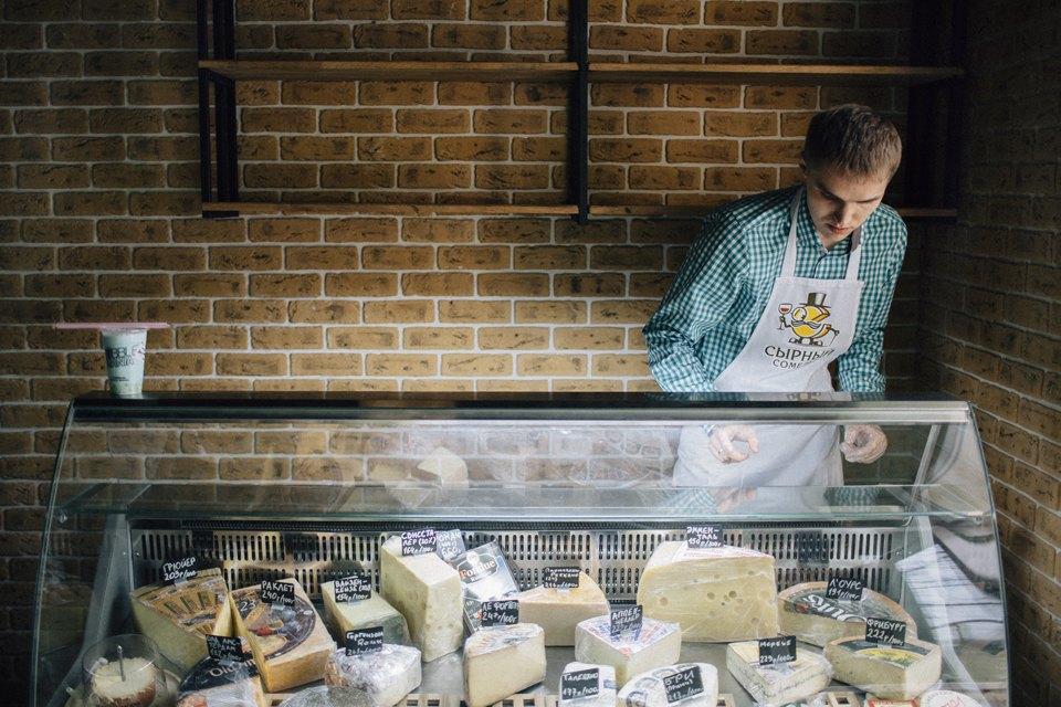 Переломный момент: Какбывший программист открыл первую вМоскве сырную лавку. Изображение № 4.