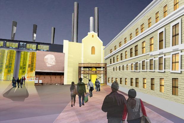Что делать с электростанцией на Балчуге: 5 проектов студентов МАРХИ. Изображение № 3.