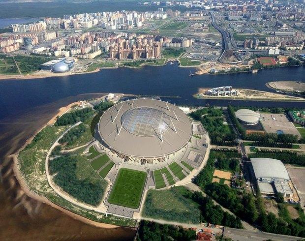 Опубликованы финальные рендеры строящегося стадиона наКрестовском. Изображение № 3.