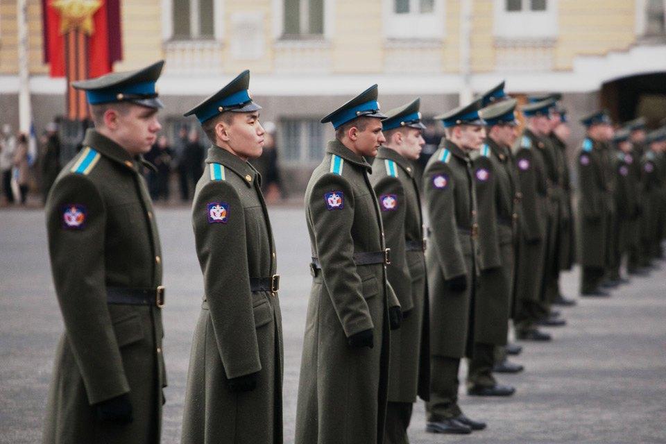 Репетиция парада Победы на Дворцовой площади. Изображение № 7.
