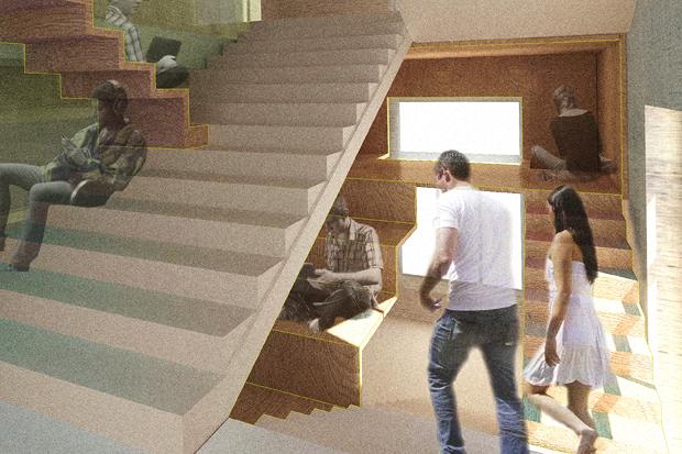 Перестройка: Что делать с чёрными лестницами. Изображение № 4.