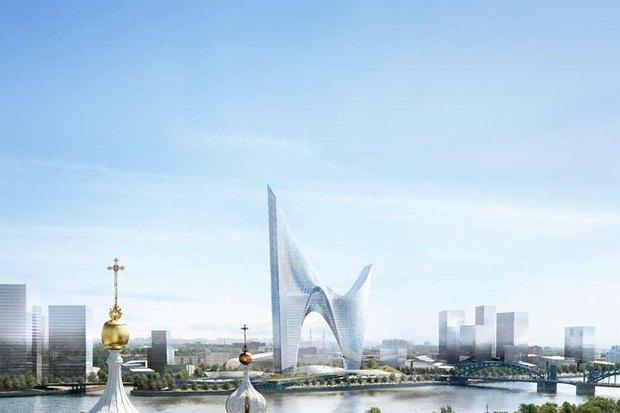 Проект Даниэля Либескинда для «Газпрома». Изображение № 5.