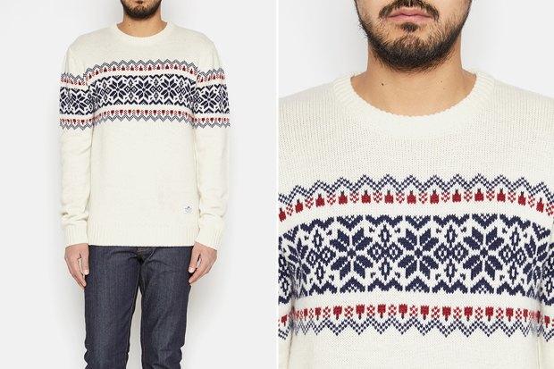 Мужские новогодние свитеры: 9вариантов от 1500 до16тысячрублей. Изображение № 8.