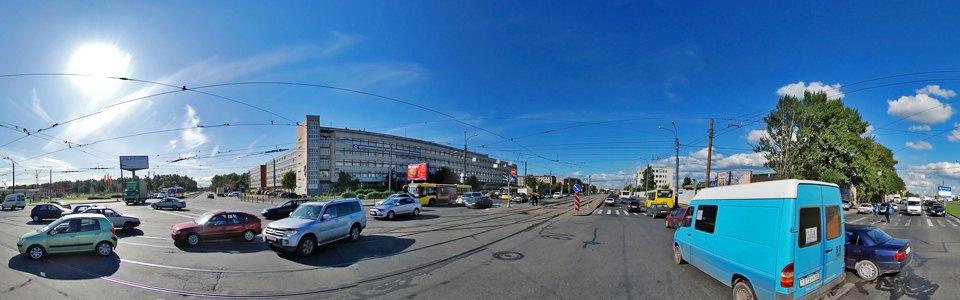 Строительство торгового комплекса со встроенным вестибюлем станции метро «Бухарестская» на месте промзоны на Бухарестской улице  2009 год. Изображение № 9.