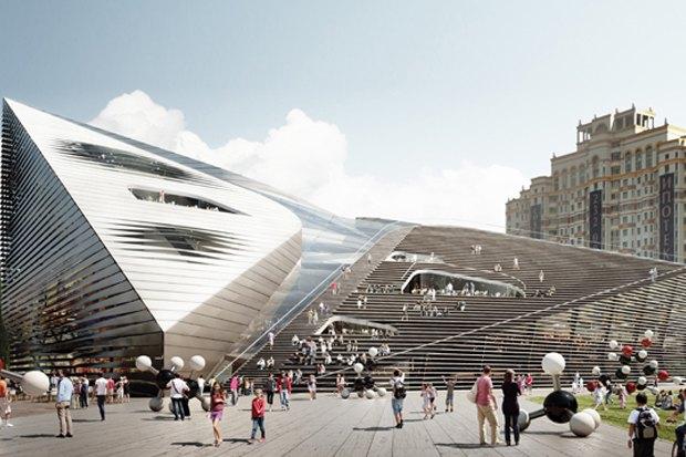 Представлены шесть проектов нового здания Политехнического музея. Изображение № 6.