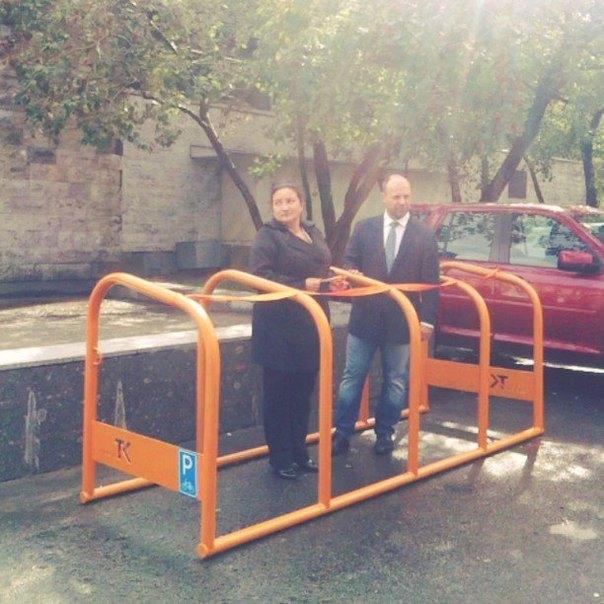 В Адмиралтейском районе поставят велопарковки правильного размера. Изображение № 3.