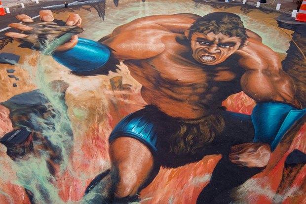 Гости столицы: Художник 3D-граффити Эдгар Мюллер. Изображение № 13.