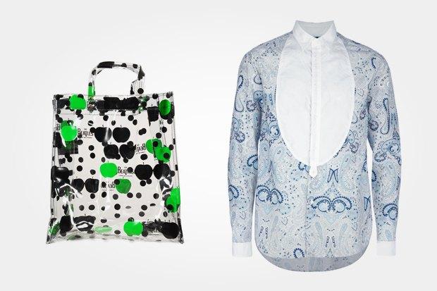 Сумка Comme des Garcons x The Beatles за 10 290 рублей со скидкой 30 % и рубашка 08 Sircus за 23 310 рублей с такой же скидкой. Изображение № 12.