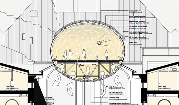 Теория вероятности: 4 проекта реконструкции Политехнического музея. Изображение № 23.