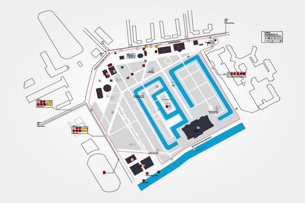 План размещения сервисов в парке «Красная Пресня». Изображение № 10.