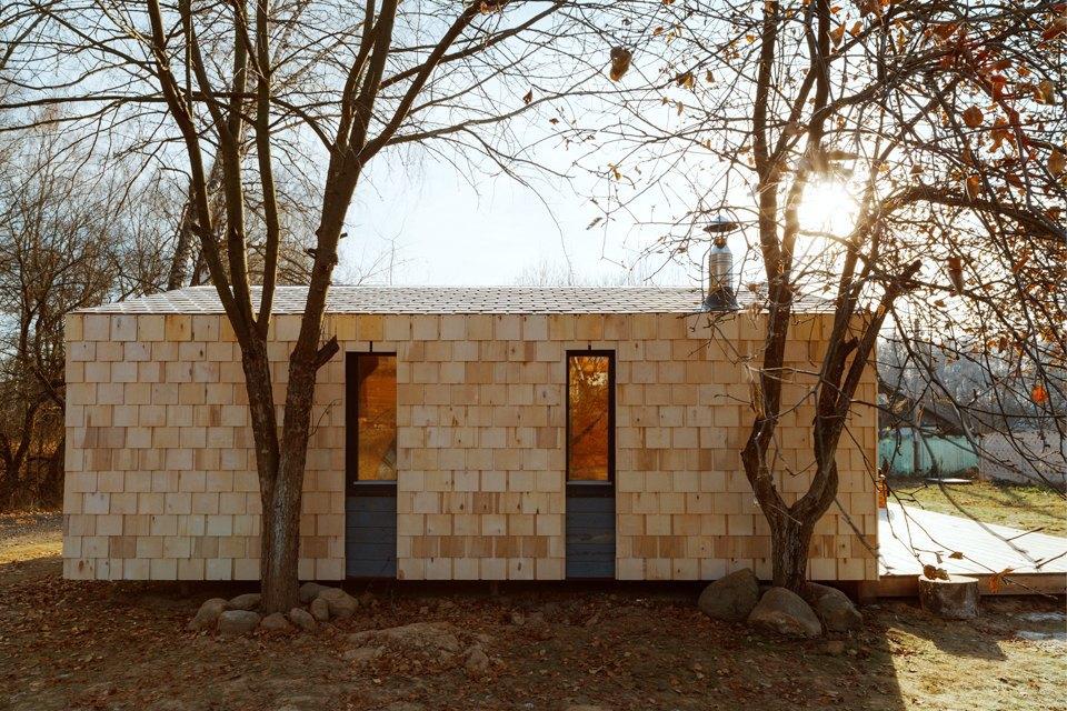 Дом-конструктор Ивана Овчинникова на 25 квадратных метрах. Изображение № 4.