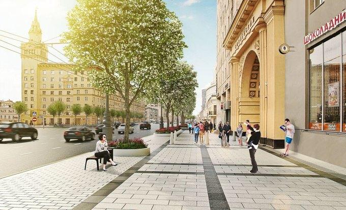 Визуализация проекта реконструкции Смоленской площади. Изображение № 6.