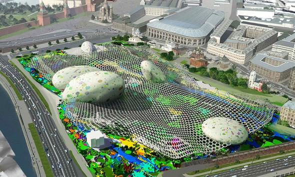 Москомархитектура выбрала 118 проектов парка в Зарядье. Изображение № 1.