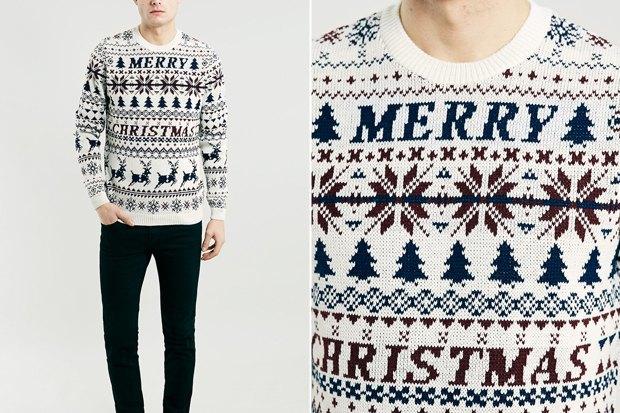 Мужские новогодние свитеры: 9вариантов от 1500 до16тысячрублей. Изображение № 4.