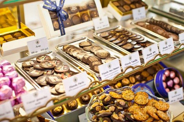 На 1-й Тверской-Ямской открылся шоколадный бутик Debauve & Gallais. Изображение № 4.
