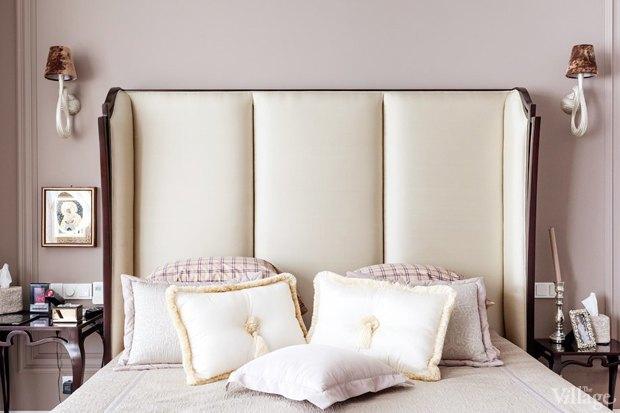 Как изголовье кровати может изменить внешний вид спальни. Изображение № 1.