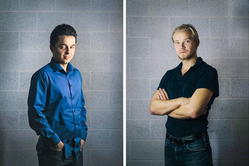 Сергей Фаге (слева), Кирилл Махаринский. Изображение № 2.