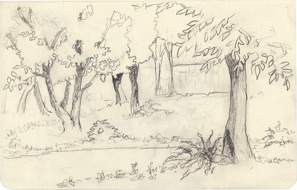Клуб рисовальщиков: Сад «Эрмитаж». Изображение № 3.