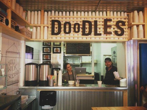 Открытия недели: Doodles, Prawns, «Вок-Cтрит», The Burger Brothers. Изображение № 1.