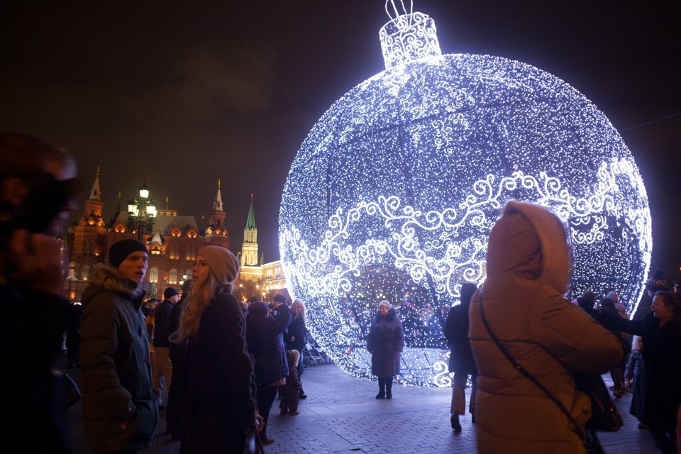 Как украсили Москву кНовому году. Изображение № 18.