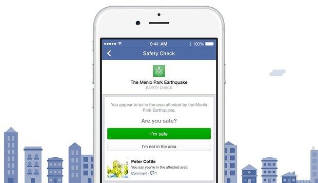 Facebook запустит «Проверку безопасности». Изображение № 1.