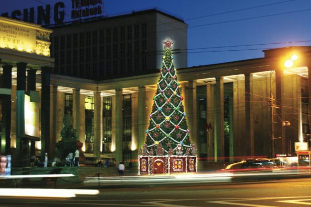 Великие луки: Как украсят Москву к Новому году. Изображение № 54.