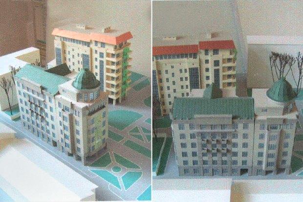 Торцы зданий приспособят для дополнительного озеленения. Изображение № 1.