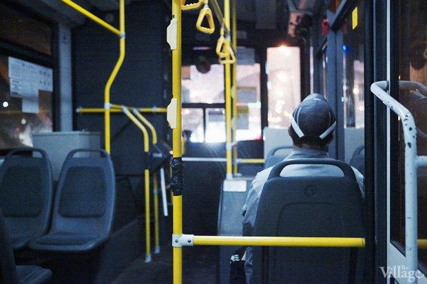 Фото дня: Первые ночные автобусы и троллейбусы в Москве. Изображение № 5.