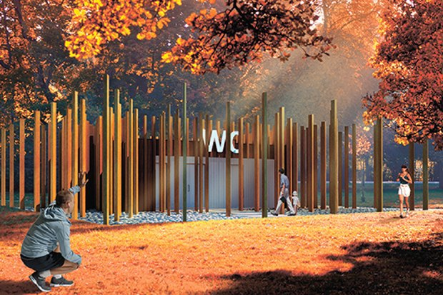 Для Измайловского парка выбирают дизайнерский туалет. Изображение № 2.