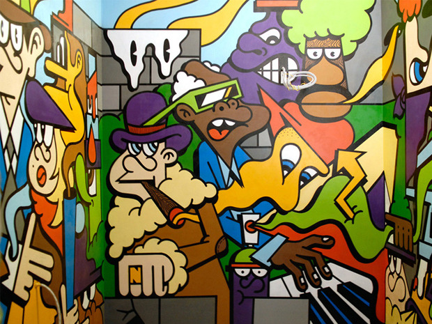 Герб Москвы: Версия граффити-художника Nootk. Изображение № 4.