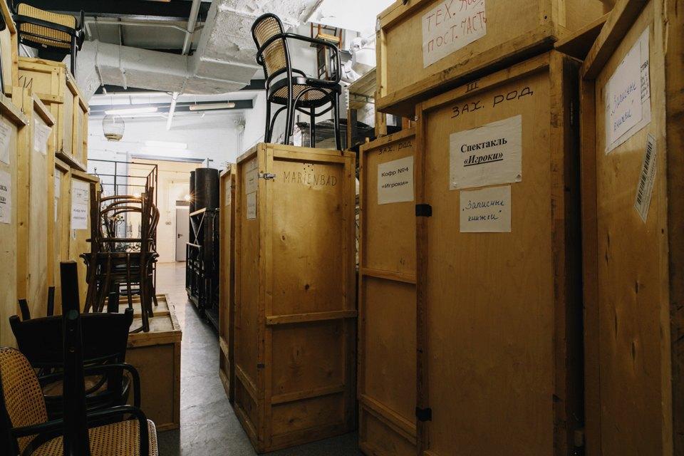 «Студия театрального искусства» вздании бывшей фабрики. Изображение № 32.