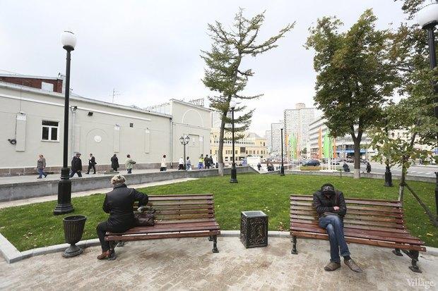 Фото дня: Как выглядит обновлённая Арбатская площадь. Изображение № 6.
