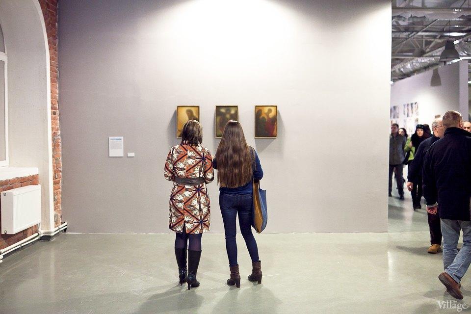 Люди в городе: Первые посетители выставки Icons в Петербурге. Изображение № 12.