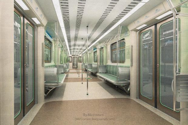 Дизайнеры предложили Метрополитену проект новых вагонов. Изображение № 6.