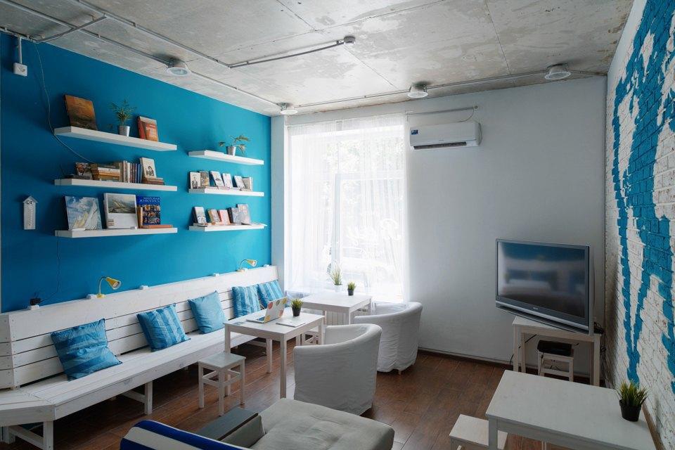 Хостел на«Белорусской» сномерами-каютами идвухэтажной двуспальной кроватью. Изображение № 3.